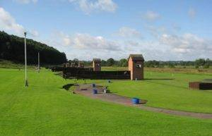 clay pigeon shooting in the West Midlands