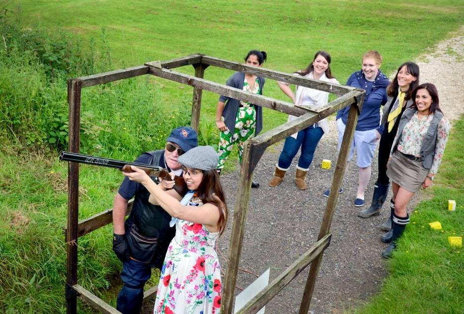Team Building Activities in the Midlands - Doveridge Clay