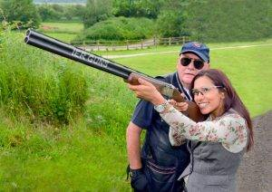 Clay shooting in the Midlands