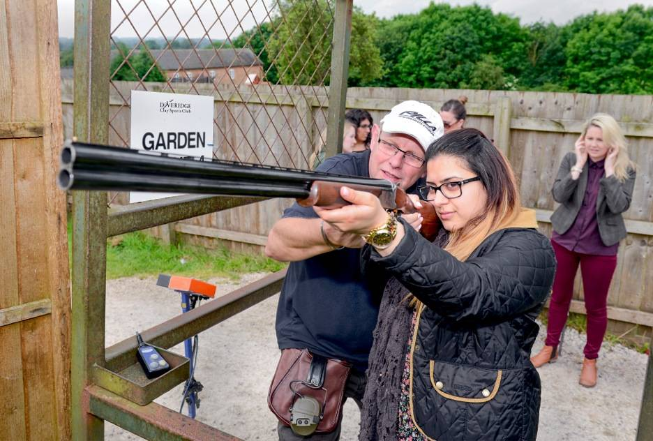 clay shooting in the West Midlands